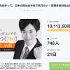 クラウドファンディング、一千万円を突破!!結党記者会見は10月12日(金)16:00~
