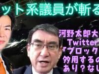河野太郎大臣の総裁選出馬で再燃した、政治家にTwitterブロックは許されるのか問題(私はミュート派)