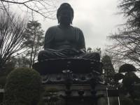 安全対策を徹底し、ベビーカー置き場も完備。「東京大仏」の乗蓮寺さまに、謝罪のため伺いました