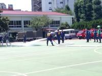 ワールドカップの裏番組では、消防団の熱戦が。式典は短くなるのか?!