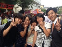 初登庁!?と、十条富士神社大祭